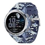 HONOR Watch GS Pro - Smartwatch Multideporte con de 25- Día Batería Duración, Certificado de Estándar Militar, GPS, 48mm, 1,39 Pulgadas AMOLED, IP68, Frecuencia Cardíaca, Azul