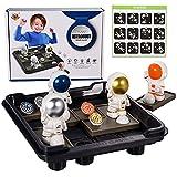 FORMIZON Juegos de Lógica, Juguetes Montessori, Juguetes Educativos de Astronauta Juguetes Aprendizaje, Rompecabezas Niños, Juego de Tablero Juegos de Rompecabezas para Niños