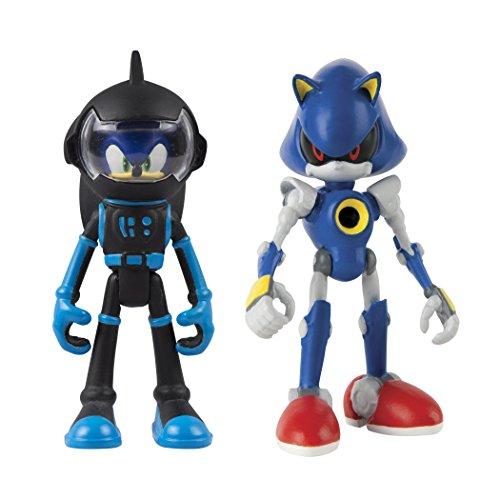 Sonic Tomy Boom 2 Figure Pack, Spacesuit Sonic & Metal Action Figure