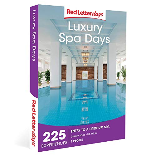 Red Letter Days Spa Days Gift Voucher – 225 UK luxurious spa experiences for two