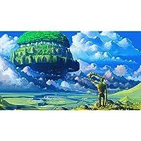 ジグソーパズル天空の城ラピュタ300/500/1000/1500ピ 2021 Series 99099001 木製減圧玩具パズル家の装飾に使える減圧 (Size : 500pcs)