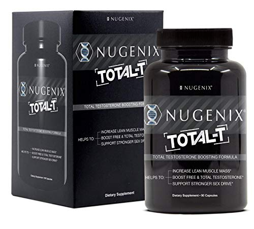 Nugenix Total-T - Free and Total Testosterone Booster, 90 Count