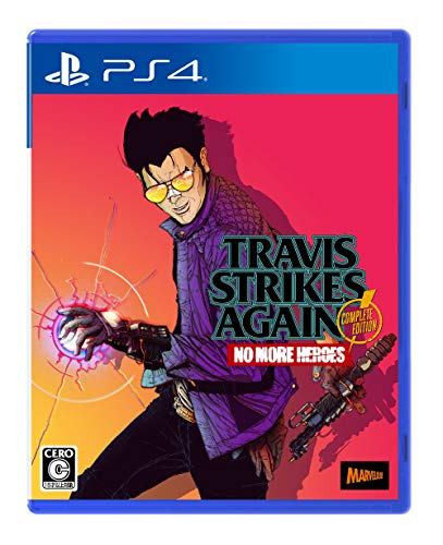 MARVELOUS TRAVIS STRIKES AGAIN NO MORE HEROES FOR SONY PS4 REGION FREE JAPANESE VERSION [video game]