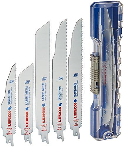 Lenox Tools Demolition Reciprocating Saw Blade Kit with Bonus Storage Case, 12-Piece Set (1214412RKD)