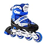 Kids Adjustable Inline Skates Outdoor Durable Perfect First...
