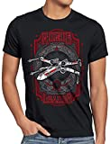 style3 Red Leader Camiseta para Hombre T-Shirt t-65 x-Wing, Talla:S