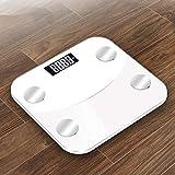 Körperfettwaage, Bodenwaage, elektronisch, LED, digitales Gewicht, Badezimmer, Balance App, Android...