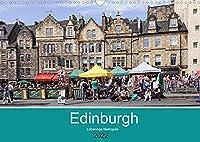 Edinburgh - Lebendige Metropole (Wandkalender 2022 DIN A3 quer): Edinburgh, die lebendige und quirlige Hauptstadt Schottlands (Monatskalender, 14 Seiten )