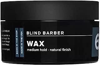 Blind Barber 60 Proof Wax - Medium Hold, Natural Hair Wax for Men, Water Based Wax with Hops & Tonka Bean (2.5oz / 70g)