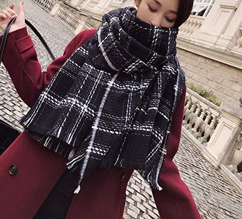 Sportinggoods herfst en winter nieuwe kleine geurstijl onder sjaal vrouwen trendy dikke warme sjaal imitatie kasjmier losse baard sjaal