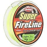 バークレイ(Berkley) PEライン 200m 0.8号/12lb グリーン スーパーファイヤー 釣り糸