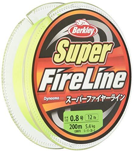 バークレイ PEライン 200m 1.2号/20lb グリーン