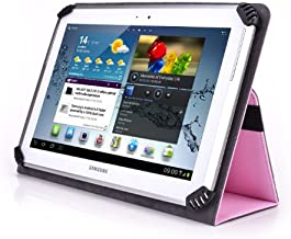 Insignia NS-P10A7100 10.1 Inch Tablet Case - UniGrip 10 Edition Folio Case by Cush Cases (Pink)