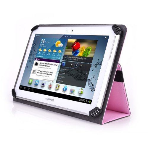 Teclast X98 Air 3G 9.7 Inch Tablet Case - UniGrip 10 Edition Folio Case - Pink - by Cush Cases
