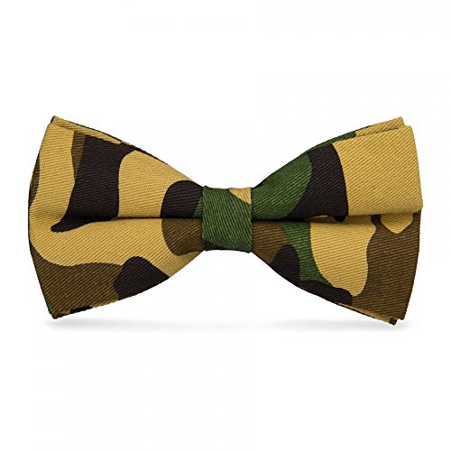 CravateSlim N?ud Papillon Militaire Camouflage n°1
