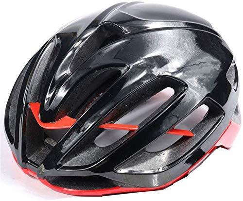 JIBO Unisexo Bicicleta Casco, Motocicleta La Carretera Montando Equipo, Adecuado para Al...