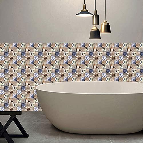 Ylight 3D Pegatinas Azulejos Paredazulejos Pegatinas Mosaico Creativo Tile Pegatinas Decoración del Hogar DIY Etiquetas Engomadas Impermeables