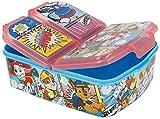 Paw Patrol Boîte à sandwich 3 compartiments pour enfant Motif La Reine des Neiges 2 Anna Elsa PJ Masks Spiderman Avengers Marvel Mickey Sans BPA