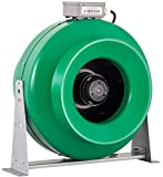Hydrofarm Active Air ACDF12 969 CFM in-Line Duct, 12-Inch Fan, 12 Inch, Green