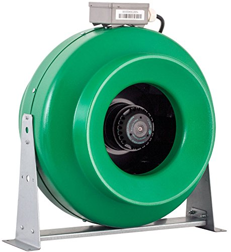 Hydrofarm Active Air ACDF12 969 CFM in-Line Duct, 12-Inch Fan, 12 Inch, Green