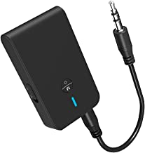 ZIIDOO Bluetooth 5.0 Transmitter and Receiver, 3-in-1 Wireless Bluetooth Adapter,Low..