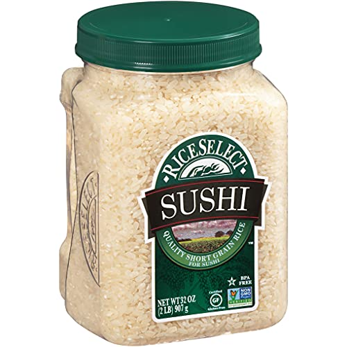 RiceSelect Sushi Rice, 32-Ounce Jars, 4-Count, 905629