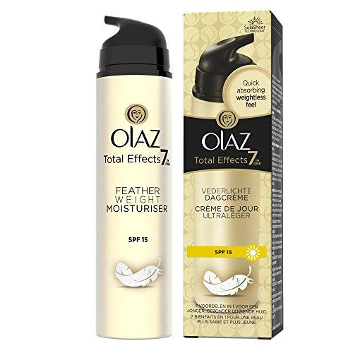 Olaz Total Effects 7-in-1 vederlichte dagcrème anti-aging huidverzorging SPF 15, per stuk verpakt (1 x 50 ml)