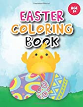 Easter coloring book: Coloring for Toddlers, Preschool Children & Kindergarten full with bunnies, rabbits, Easter eggs and more