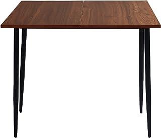 sun yoba Grande table de salle à manger de cuisine pliante avec pieds réglables en métal