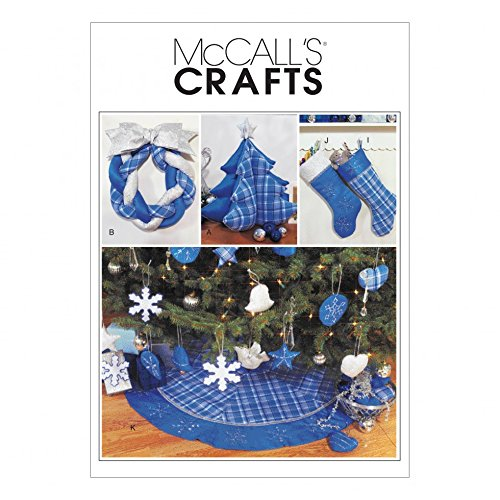 McCalls Sewing Pattern 3777 Crafts for Christmas Sizes: One Size