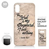 Samsung Galaxy Note 10 Plus Case, The Lord My Shepherd Psalm 23:1 Bible Verse Unique Print Christian Cover 3D Case for Gift for Samsung Galaxy Note 10 Plus