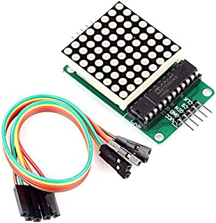 SainSmart MAX7219 Red LED Dot Matrix Display Module MCU Control DIY Kit for Arduino