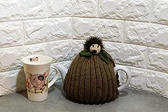 Hand Knitted, Hedgehog, Tea Cozy, fits 4-6 cup Tea Pot