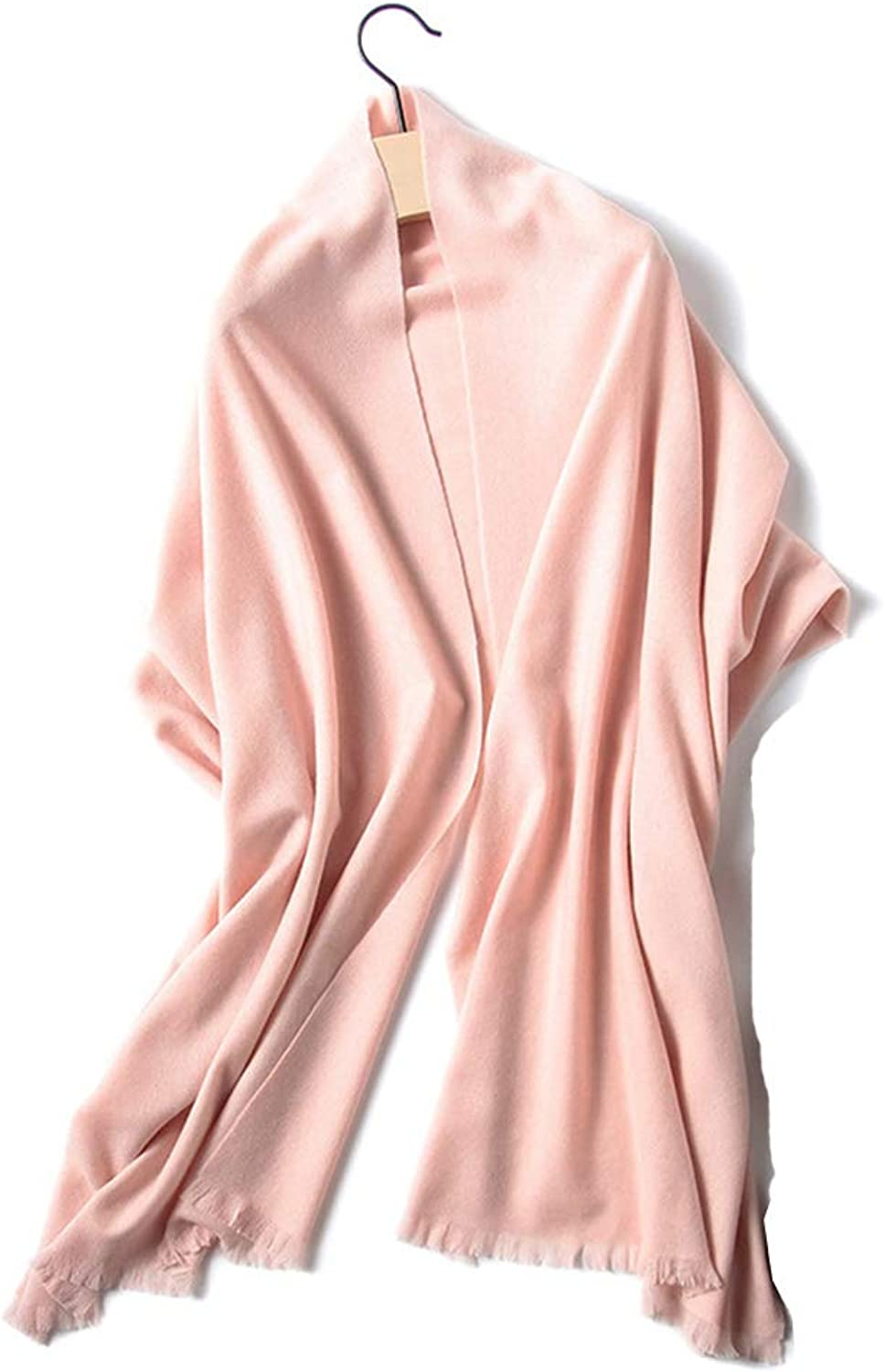 Women's Scarf for Autumn and Winter Scarf Shawl (color   Pink)