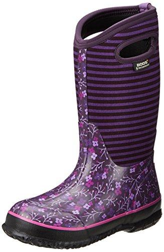 BOGS unisex child B-moc Snow Rain Boot, Pegasus-purple, 9 Toddler US