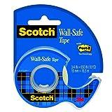 Scotch 183 Wall Safe - Nastro per preserva muri, 16,5 m x 19 mm...