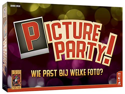 999 Games 999-Pip01 Picture Party Bordspel Bordspel, Multikleur