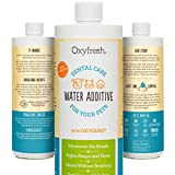 Oxyfresh Premium Pet Dental Care Solution Pet Water Additive: Best Way to Eliminate Bad Dog Breath and Cat Breath - Fights Tartar and Plaque - So Easy, just add to Water! Vet Recommended! 16 oz
