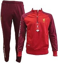 Liverpool F.C. Chándal Pantalones y Chaqueta Original con Licencia Oficial Jumpsuit Tracksuit