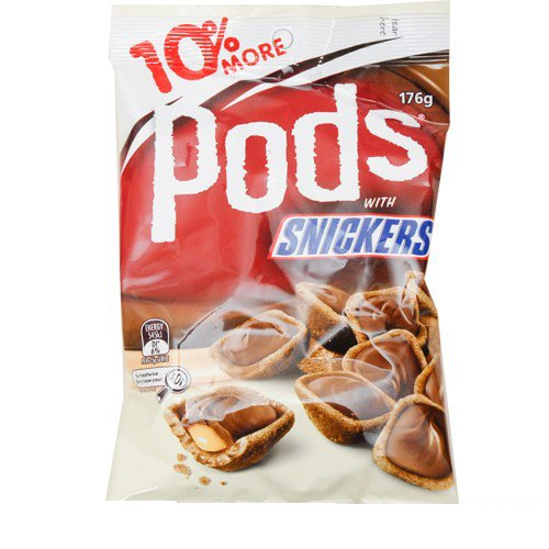 Mars Pods Snickers 176g x 8