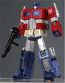 Transformers Galaxy Force Hybrid Style THS 02 G1 MasterpieceStyle Optimus Prime with Fully Detailed Trailer