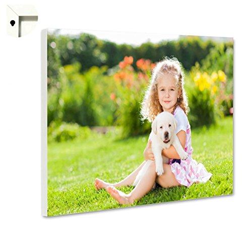 Magnettafel Pinnwand mit Wunschmotiv Ihr eigenes Foto Bild Motiv Größe 80 x 60 cm