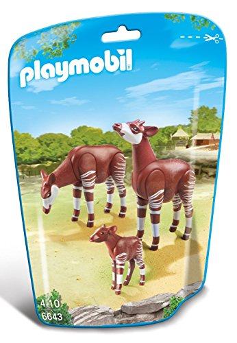 PLAYMOBIL - Familia de okapis (66430)