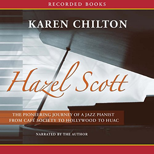 Hazel Scott audiobook cover art