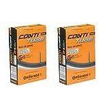 2本セット コンチネンタル Continental Race26(650C) 仏式チューブ 650x20-25C(20-559/25-571) バルブ長42mm (バルブ長42mm) [並行輸入品]