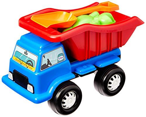 Praieiro, Tilin Brinquedos, Azul/vermelho/amarelo, Pequeno