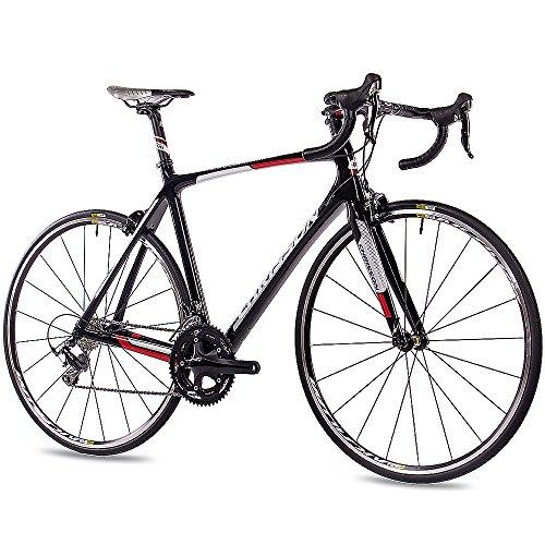 CHRISSON 28 Zoll Profi Rennrad Carbon PRO Road Team mit 20G Shimano 105 61 cm