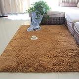 Alfombra de la sala de estar, mesa de café, almohadilla, habitación, almohadilla de piso, manta de noche, linda alfombra de piso de felpa, 50x120 cm