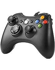 XBOX 360 コントローラー Chayoo PC コントローラー 有線 ゲームパッド Microsoft Xbox&Slim 360 PC Windows 7/8/10に対応 二重振動 人体工学 ゲームコントローラー