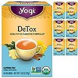 Yogi Tea - DeTox Tea (6 Pack) - Healthy Cleansing Formula With...